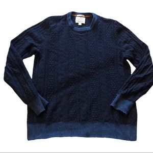 Lucky brand Blue Crewneck sweater size small